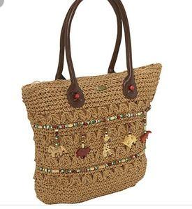 Crochet Toyo Bag With Animals